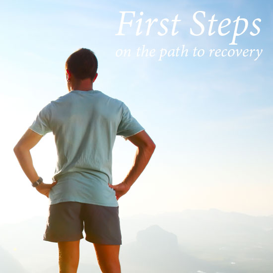 First steps on the path to recovery